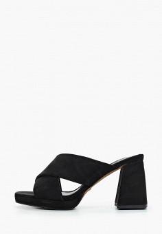 Сабо, Topshop, цвет: черный. Артикул: TO029AWJGJT7. Обувь / Сабо и мюли