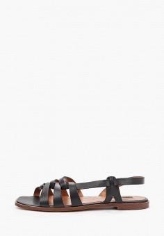 Сандалии, Topshop, цвет: черный. Артикул: TO029AWKCRG2. Обувь / Сандалии