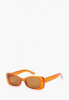 Очки солнцезащитные, Topshop, цвет: оранжевый. Артикул: TO029DWIQUB7. Аксессуары / Очки
