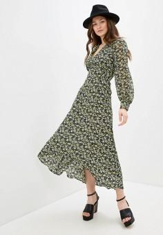 Платье, Topshop, цвет: мультиколор. Артикул: TO029EWIGVI7.