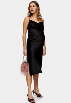 Платье, Topshop Maternity, цвет: черный. Артикул: TO029EWIKIQ2. Одежда / Платья и сарафаны / Вечерние платья