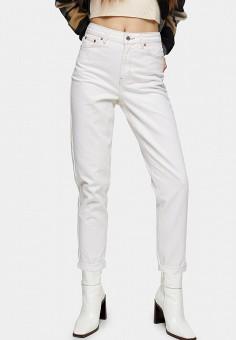 Джинсы, Topshop, цвет: белый. Артикул: TO029EWIKIU7.