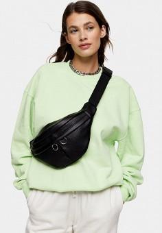 Свитшот, Topshop, цвет: зеленый. Артикул: TO029EWISPM4.