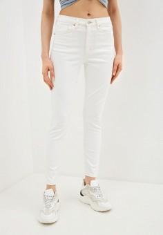 Джинсы, Topshop, цвет: белый. Артикул: TO029EWIXQJ3. Одежда / Джинсы / Узкие джинсы
