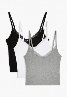 Комплект, Topshop, цвет: белый, серый, черный. Артикул: TO029EWIYFN3.