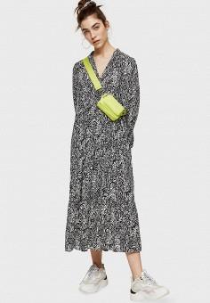 Платье, Topshop, цвет: черный. Артикул: TO029EWJCZN6.