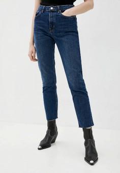 Джинсы, Topshop, цвет: синий. Артикул: TO029EWJNZT9. Одежда / Джинсы / Узкие джинсы