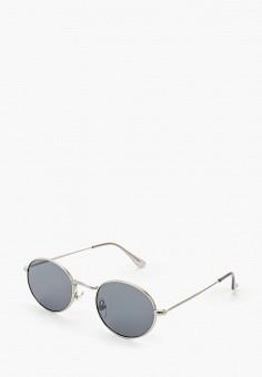 Очки солнцезащитные, Topman, цвет: серебряный. Артикул: TO030DMIQTX6.