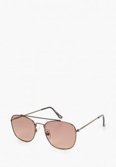 Очки солнцезащитные, Topman, цвет: коричневый. Артикул: TO030DMIQTX7.