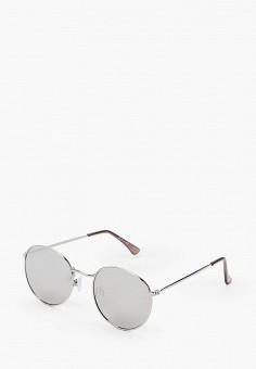 Очки солнцезащитные, Topman, цвет: серый. Артикул: TO030DMIYRL6.