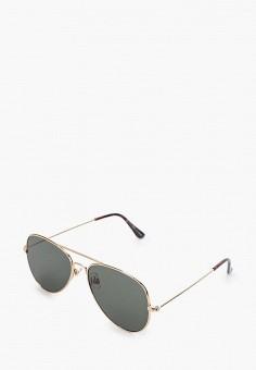 Очки солнцезащитные, Topman, цвет: серый. Артикул: TO030DMJBHA9.