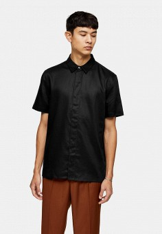 Рубашка, Topman, цвет: черный. Артикул: TO030EMIEYV7.