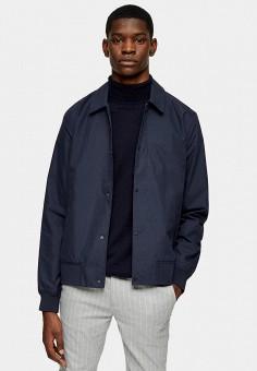 Куртка, Topman, цвет: синий. Артикул: TO030EMIKKM6.