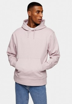 Худи, Topman, цвет: фиолетовый. Артикул: TO030EMIQUA7. Одежда / Толстовки и олимпийки / Худи