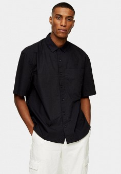 Рубашка, Topman, цвет: черный. Артикул: TO030EMIQUB4.