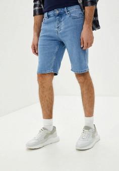 Шорты джинсовые, Topman, цвет: голубой. Артикул: TO030EMISSD1.