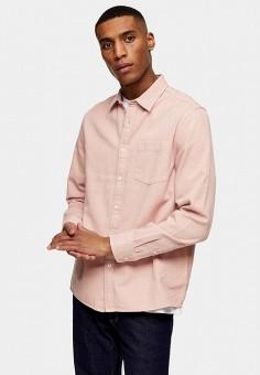 Рубашка, Topman, цвет: розовый. Артикул: TO030EMIYRO6.
