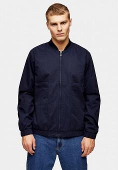 Куртка, Topman, цвет: синий. Артикул: TO030EMJDDP4.