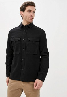 Рубашка, Topman, цвет: черный. Артикул: TO030EMJDDR6.