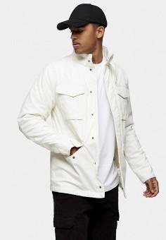 Куртка, Topman, цвет: белый. Артикул: TO030EMJECM5.
