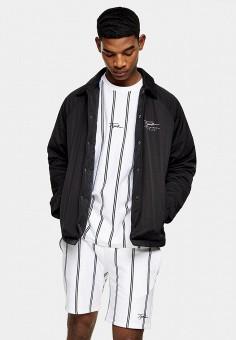 Куртка, Topman, цвет: коричневый. Артикул: TO030EMJHQI7.