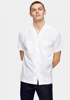 Рубашка, Topman, цвет: белый. Артикул: TO030EMJOAB4.