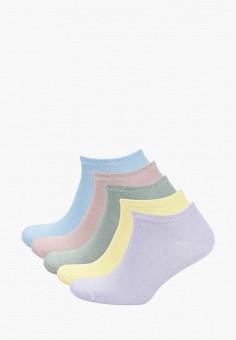 Комплект, Topman, цвет: голубой, желтый, зеленый, розовый, фиолетовый. Артикул: TO030FMJECQ4.