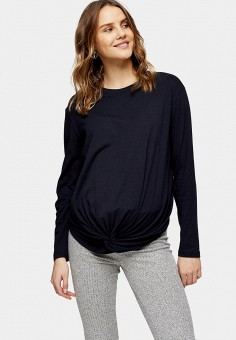 Блуза, Topshop Maternity, цвет: синий. Артикул: TO039EWJGJV6. Одежда / Одежда для беременных