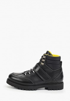 Ботинки, Tommy Jeans, цвет: черный. Артикул: TO052AMFVUK3. Обувь / Ботинки / Высокие ботинки