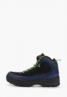 Ботинки, Tommy Jeans, цвет: синий. Артикул: TO052AMHKSW7. Обувь / Ботинки / Высокие ботинки