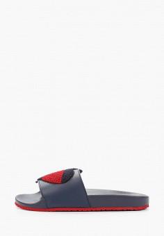 Сланцы, Tommy Jeans, цвет: синий. Артикул: TO052AWHKSX6. Обувь / Резиновая обувь