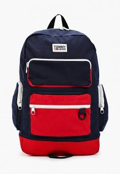 Рюкзак, Tommy Jeans, цвет: мультиколор. Артикул: TO052BMHOFS4. Аксессуары / Рюкзаки