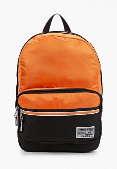 Рюкзак, Tommy Jeans, цвет: оранжевый. Артикул: TO052BMJJDO1. Аксессуары / Рюкзаки