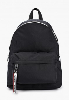 Рюкзак, Tommy Jeans, цвет: черный. Артикул: TO052BUHXMR6. Аксессуары / Рюкзаки / Рюкзаки