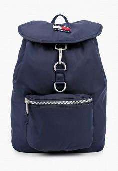 Рюкзак, Tommy Jeans, цвет: синий. Артикул: TO052BUJJDS2. Аксессуары / Рюкзаки