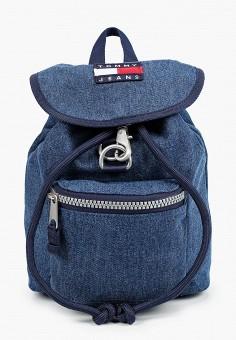 Рюкзак, Tommy Jeans, цвет: синий. Артикул: TO052BWHXOH0. Аксессуары / Рюкзаки / Рюкзаки