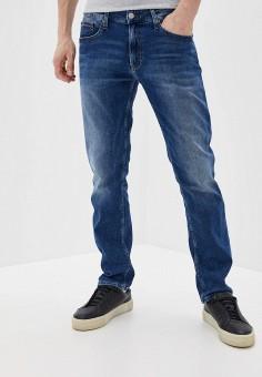 Джинсы, Tommy Jeans, цвет: синий. Артикул: TO052EMHJQK3. Одежда / Джинсы / Прямые джинсы
