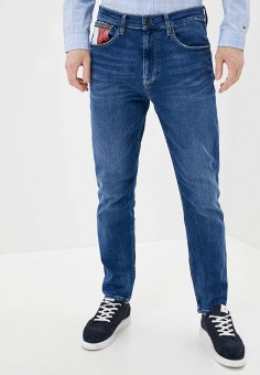 Джинсы, Tommy Jeans, цвет: синий. Артикул: TO052EMHJQS1. Одежда / Джинсы / Прямые джинсы