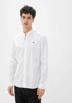 Рубашка, Tommy Jeans, цвет: белый. Артикул: TO052EMJJBW4. Одежда