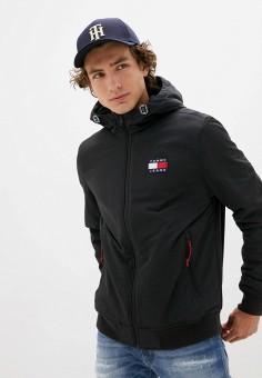 Куртка утепленная, Tommy Jeans, цвет: черный. Артикул: TO052EMJJBY2. Одежда / Верхняя одежда / Демисезонные куртки