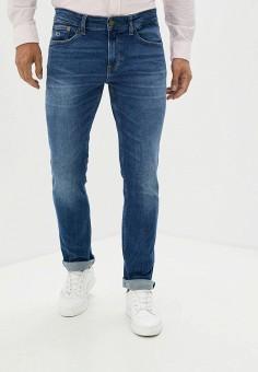 Джинсы, Tommy Jeans, цвет: синий. Артикул: TO052EMJJCM5. Одежда / Джинсы / Зауженные джинсы