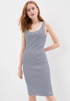 Платье, Tommy Jeans, цвет: мультиколор. Артикул: TO052EWHMJR6. Одежда / Платья и сарафаны