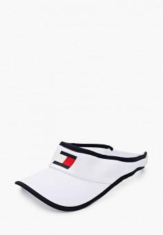Козырек, Tommy Sport, цвет: белый. Артикул: TO058CUHXOK0. Аксессуары / Головные уборы