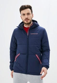 Куртка утепленная, Tommy Sport, цвет: синий. Артикул: TO058EMHLUM2. Одежда / Верхняя одежда / Демисезонные куртки