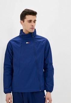 Ветровка, Tommy Sport, цвет: синий. Артикул: TO058EMHVUG8. Одежда / Верхняя одежда / Легкие куртки и ветровки