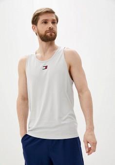 Майка спортивная, Tommy Sport, цвет: серый. Артикул: TO058EMIYYI6. Одежда / Майки