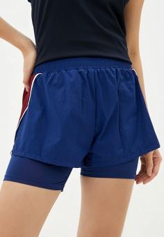 Шорты спортивные, Tommy Sport, цвет: синий. Артикул: TO058EWHLHR6. Одежда / Шорты