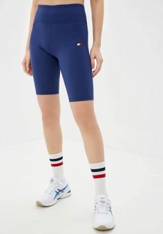 Шорты спортивные, Tommy Sport, цвет: синий. Артикул: TO058EWJIJE1. Одежда / Шорты
