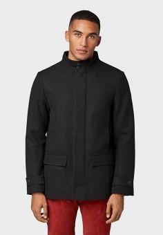 Пальто, Tom Tailor, цвет: черный. Артикул: TO172EMGBEQ5. Одежда / Верхняя одежда / Пальто