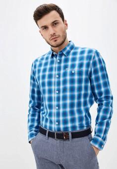 Рубашка, Tom Tailor, цвет: голубой. Артикул: TO172EMHQFG4. Одежда / Рубашки